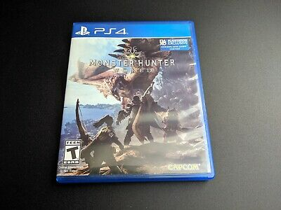 AU32.65 • Buy Monster Hunter World Sony Playstation 4 PS4 LN PERFECT Condition COMPLETE