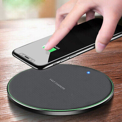 $ CDN6.64 • Buy For Samsung S20 S10 S9 Note 10 + 10W Wireless Fast Charger Charging Dock Pad Mat