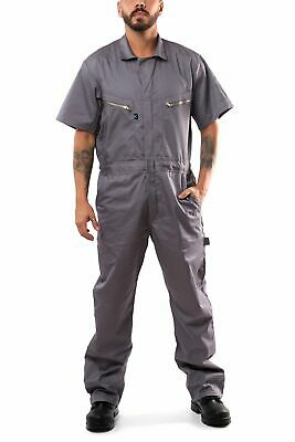 $31.95 • Buy KC08 - Kolossus Pro-Utility Cotton Blend Short Sleeve Coverall With Zip-Front Po