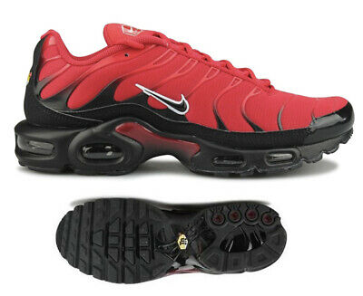 New NIKE Air Max Plus TN Men's Sneakers Red Black All Sizes • 164.99$