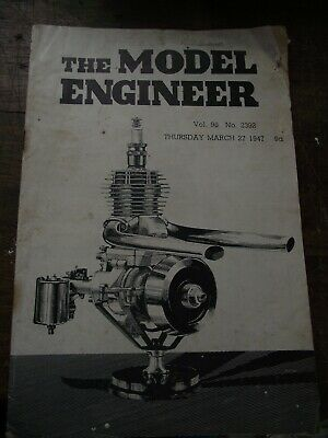 The Model Engineer Magazine. Vol. 96. No. 2392. Thursday, March 27, 1947. • 1£