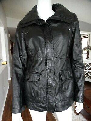 $ CDN129.99 • Buy DANIER Black Leather Jacket Small