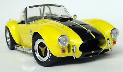 Shelby Collectibles 1/18 Scale Shelby Cobra 427 S/C Yellow Diecast Model Car • 89.99£