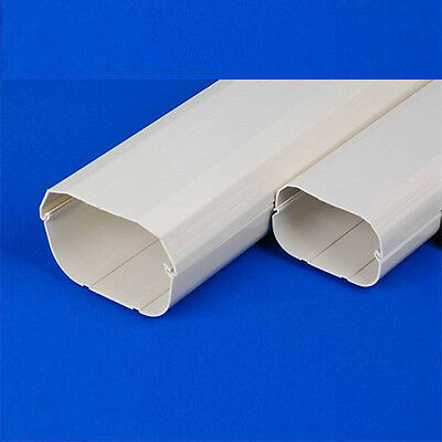 AU38 • Buy New Air Conditioner Wall Duct Cover PVC Duct Split System 100mm 2m Length