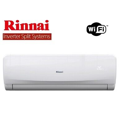 AU1290 • Buy Rinnai 7kw Inverter Reverse Cycle Split System Air Conditioner Wifi - Hsnrq70b