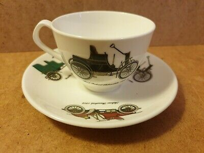 Queensberry Crown Staffordshire Small Cup & Saucer  • 7.95£
