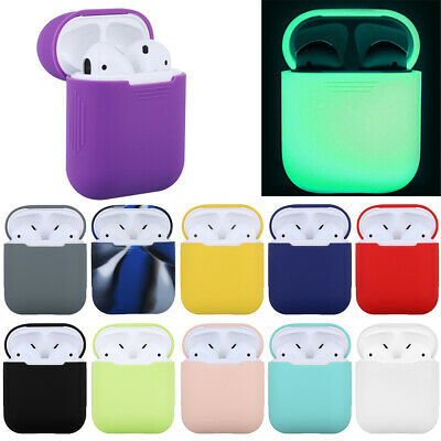 $ CDN3.66 • Buy Shock Proof Slim Sleeve Wrap Silicone Case Protective Skin Cover For AirPods