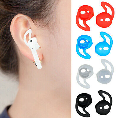 $ CDN2.51 • Buy BT_ 1 Pair Silicone Ear Hook Protector Cover Case For AirPods 1/2 Earpods Effici