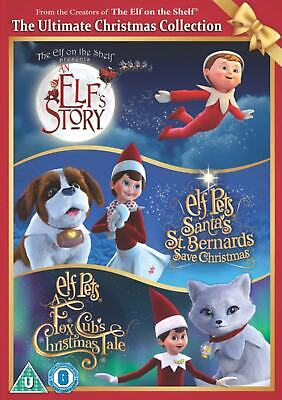 AU37.95 • Buy The Elf On The Shelf The Ultimate Christmas Collection New DVD Elf Pets Fox Cubs