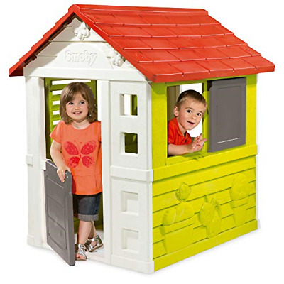 Smoby Wendy House And Playhouse For Kids | Colorful Kids Playhouses For Garden | • 178.47£