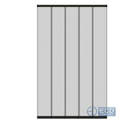 Mosquito Strip Door Curtain Insect Protection Slat Fly Screen 125x240cm Mesh • 19.95£