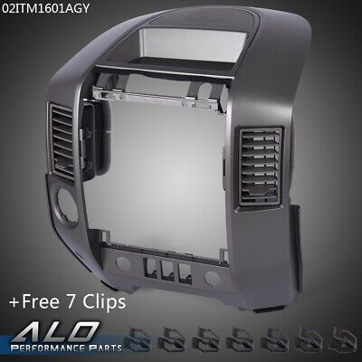 $63.40 • Buy For NISSAN 2004-2006 TITAN/ARMADA Center Dash/Radio Ac Bezel -W /Speaker Bezel