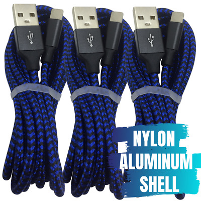 AU18.48 • Buy 3 Pack 3M USB Fast Charger Cable Braided For Apple IPhone 11 XR X Charging Cord
