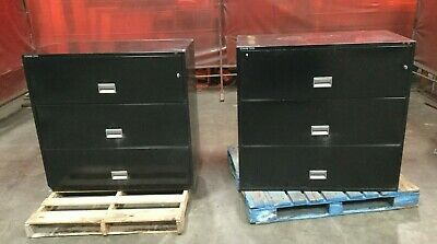Schwab 5000 Horizontal Filing Cabinet / Fire Proof / 3 Drawer / Includes Key • 899$