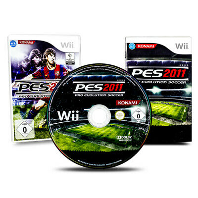 AU6.12 • Buy Nintendo Wii Game Pes 2011 Pro Evolution Soccer Football Boxed With Instructions