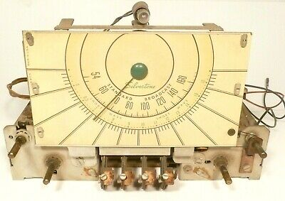 $ CDN81.83 • Buy Vintage SILVERTONE 7090  RADIO:  UNTESTED CHASSIS 101.810-3 W/ 6 TUBES & AERIAL