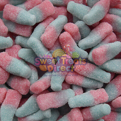 Fizzy Cola Bottles Sweets Bubblegum Kingsway Retro Wedding Party Treat Gifts • 4.19£