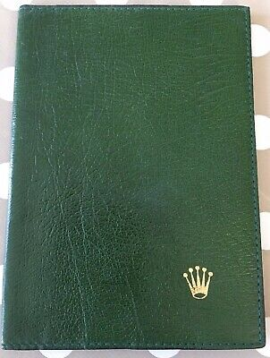 Rolex Vintage Accessory Wallet 6 X Credit Card + 4 X Sections & 2x Large Pockets • 106.76$