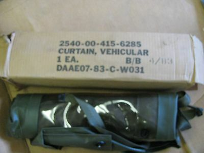 $30 • Buy M151 M151a2 Nos Vynal Side Curtain   2540-00-415-6285
