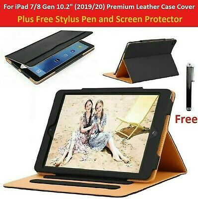 For IPad 10.2  7th Generation 2019 Premium Leather Tablet Folio Case Stand Cover • 9.99£