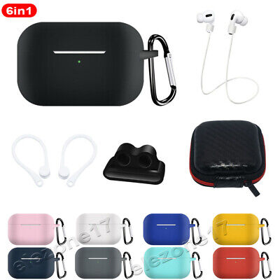 $ CDN6.88 • Buy 6in1 For Apple AirPods Pro Charging Case Protect Cover Skin Airpod Accessories