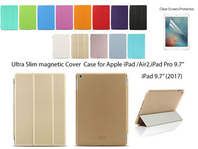 AU10.99 • Buy Ultra Slim Smart Cover Case For IPad Air Air 2 Pro (9.7 ) , IPad 5th 6th Gen