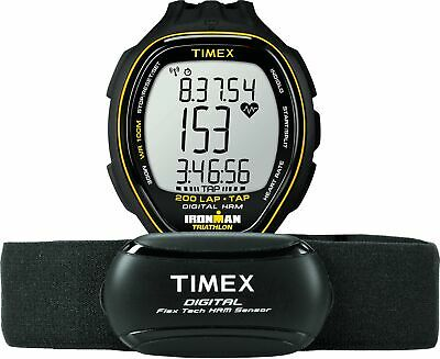 $ CDN142.38 • Buy Timex Men's T5K726 Ironman Target Trainer HR Monitor Black/Yellow Resin Watch
