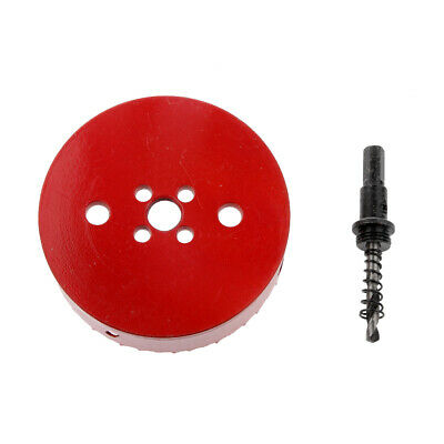 Metal HSS Drill Holesaw Hole Saw Cutter Tools 110mm For Aluminum Iron Pipe • 11.40£