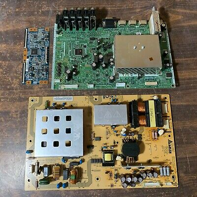 $91.08 • Buy Sanyo 42  DP42849 TV PARTS KIT LCD Main Video POWER T-CON BOARD 1AA4B10N22900
