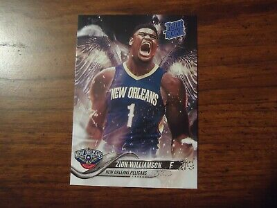 $3.99 • Buy  ZION WILLIAMSON 2019 SP #1 Draft Pick Rookie New Orleans Pelicans