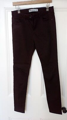 Super Skinny Jeans New Look Size 14 Aubergine • 8.99£