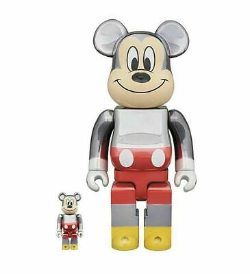 $1788.88 • Buy Medicom Fragment Mickey Mouse 90th Ann. Bearbrick 2019 400% 100% IN HAND