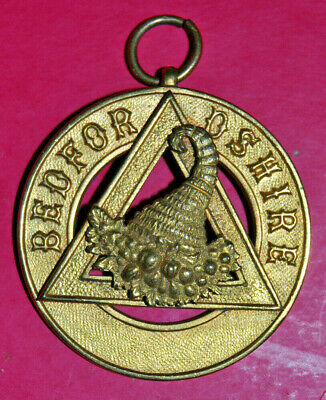 Bedfordshire Past Provincial Grand Steward Royal Arch Chapter Jewel • 15£
