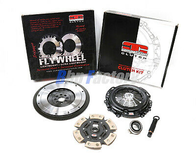 Competition Clutch Honda Civic Ep3 Dc5 Fn2 Type R Stage 4 Kit & Light Flywheel • 589£