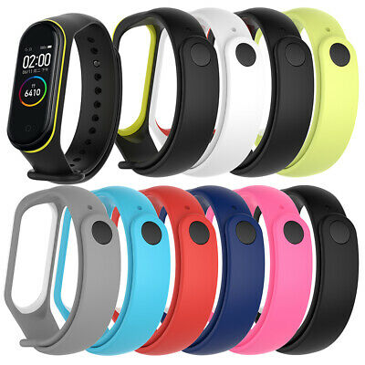 Replacement Wrist Strap Watch Band Bracelet Silicone For Xiaomi Mi Band 4 3 • 4.87$