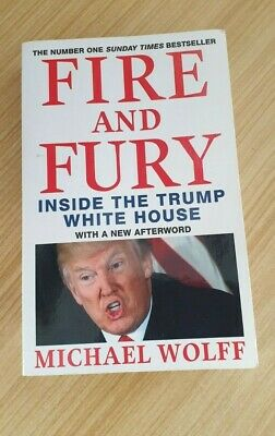 AU16.95 • Buy Fire And Fury: Inside The Trump White House By Michael Wolff