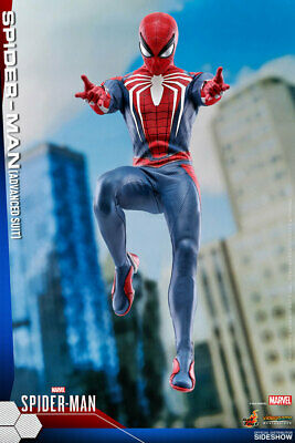 $ CDN501.05 • Buy Hot Toys Spider-Man Advanced Suit 1/6 Scale Figure Video Game VGM31 PS4 903735