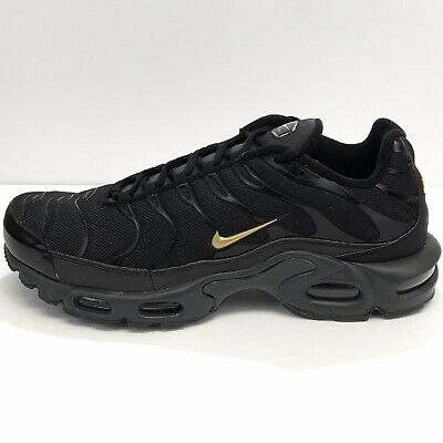 $93.99 • Buy RARE Nike Air Max Plus (Size 11) Black/Gold Sneakers