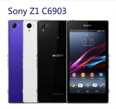 $ CDN106.24 • Buy Brand New Sony Xperia Z1 C6903 4G LTE Mobile Phone 2GB RAM 16GB ROM Android