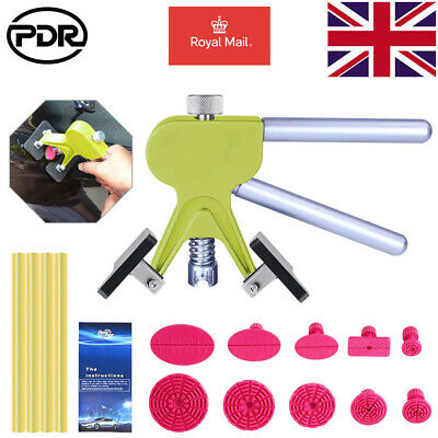 UK PDR Tools Dent Puller Lifter Paintless Hail Removal Repair Glue Stick & Tab • 17.27£