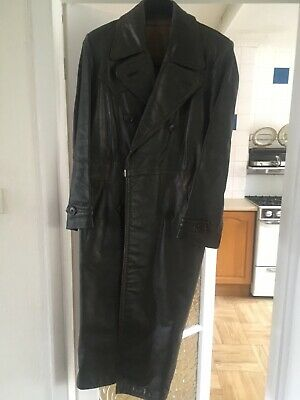 Ww2? Ladies German Leather Greatcoat/Overcoat • 100£