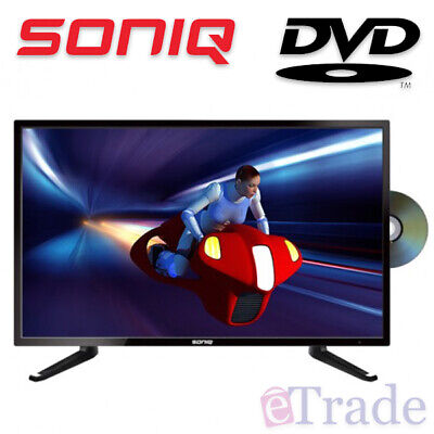AU229.90 • Buy SONIQ 24  Inch HD LED LCD TV With Built-In DVD Combo - 12V Caravan Compatible