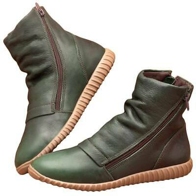 Boot Women Waterproof Arch Support Ankle Chelsea Booties Shoes J • 13.04£