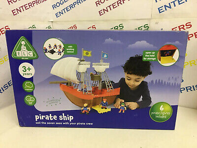 £26.99 • Buy ELC Early Learning Centre Pirate Ship W. 6 Figures NEW Box Scuffed