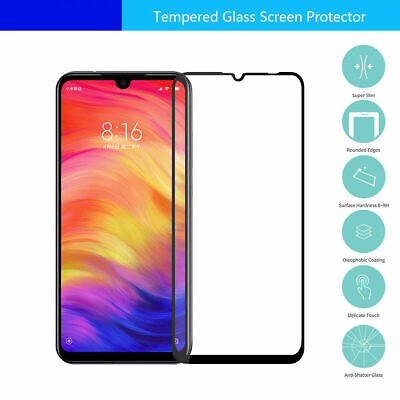 AU4.49 • Buy For Xiaomi Redmi Note 8 Pro Full Coverage Tempered Glass Screen Protector Guard