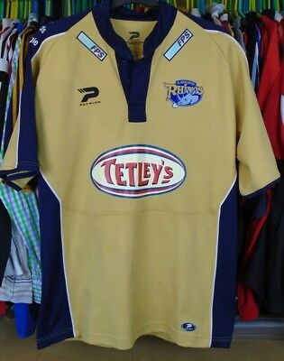 Leeds Rhinos 2005 Change Patrick Rugby League Shirt Jersey Top Large Adult • 12.99£
