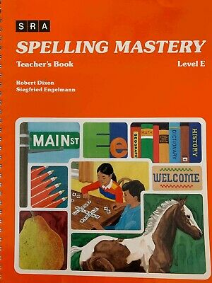 AU75 • Buy Spelly Mastery Level E Teachers Book (previous Edition)