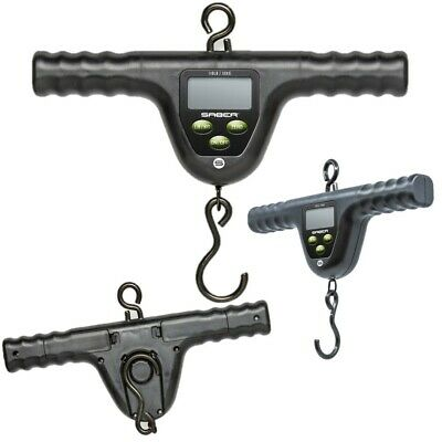 £21.95 • Buy New Deluxe Saber Digital Bar Scales 110lb 50kg Pike Carp Fishing Weighing Scales