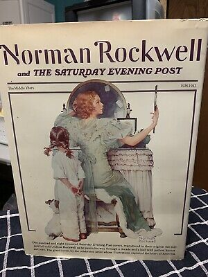 $ CDN92.26 • Buy NORMAN ROCKWELL The Saturday EVENING POST 1928-1943 Coffee Table Book 1st E 1976