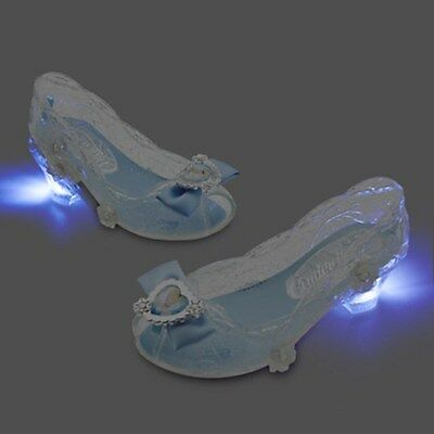 NEW Disney Store Cinderella Light-Up Costume Shoes 11/12 NWT  • 17.99$